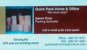 Moving, Staging or Looking for packers?