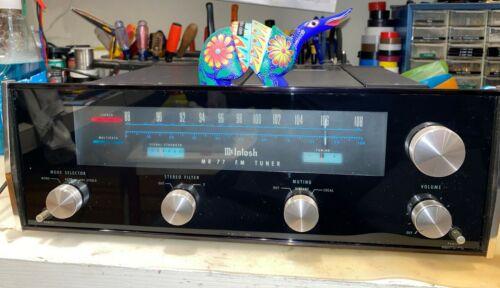 McIntosh MR77 FM stereo tuner