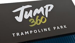 Jump 360 tickets for fundraising