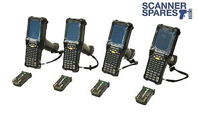 Lot Of 4 Motorola Mc9090-gf0hbega2wr 1d Ce 5.0 Barcode Scanner Warranty