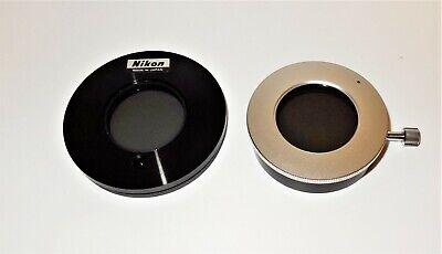 Nikon Smzu Smz-10a Smz800 Stereo Microscope Rotating Polarizer Analyzer