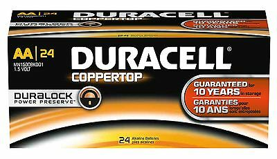 Duracell Coppertop Aa Alkaline Batteries Fourty-eight (48...