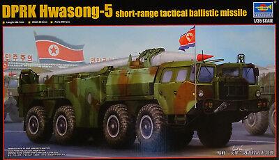 TRUMPETER® 01058 DPRK Hwasong-5 Short-Range Tactical Ballistic Missile in 1:35