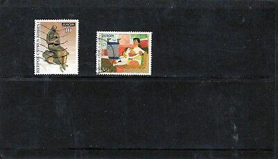 CYPRUS - 1993 F/USED EUROPA SET.