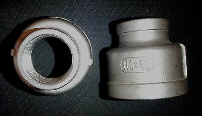 Stainless Steel Reducer Coupling 1 14 X 34 Npt Rc-125-075