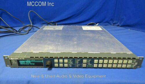 Leitch X75-DPS-575AV Frame Synchronizer SD-SDI Only