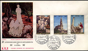 Vatican 1967 FDC Mi 528-530 - <span itemprop='availableAtOrFrom'>Bydgoszcz, Polska</span> - Vatican 1967 FDC Mi 528-530 - Bydgoszcz, Polska