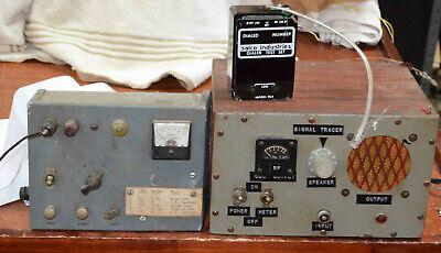 Home Made Cb Radio Telephone And Transistor Test Equipment
