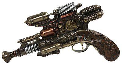 Gauss Coil Steampunk Display Pistol Gun Prop Gun Statue Figurine