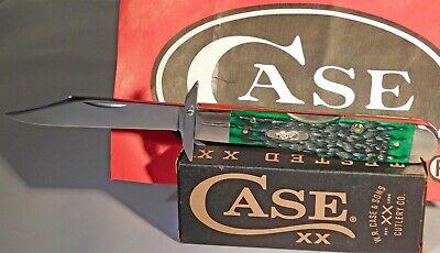 Case XX USA 2021 Blluessgrass Bone Peach Seed Jig Cheetah Pocket Knife/Knives
