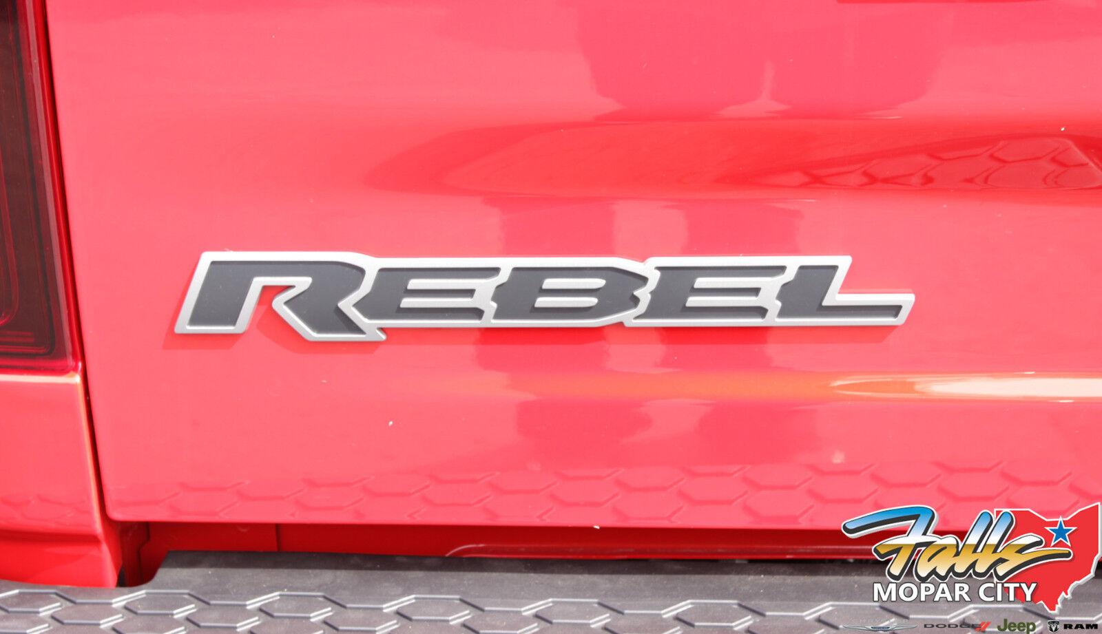 Ram 1500 Rebel >> Dodge Ram REBEL Tailgate Decal Emblem Nameplate Mopar OEM ...