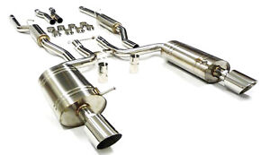 Catback Exhaust For Audi 04-05 S4 4.2L V8 B6 02-05 A4 Quattro 3.0L By Becker