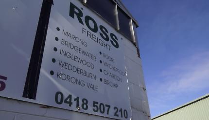 Ross Freight - Fabulous Opportunity