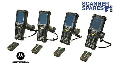 Lot Of 4 Motorola Symbol Mc9090-gj0hbega2wr Lorax Long 1d Ce Barcode Scanner
