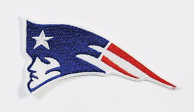 Lot  1  Nfl New England Patriots Logo Facing Left Embroidered Iron On Patch   14