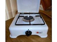 PARKA- 1 ring White Enamel Gas Stove-never used ***£15***