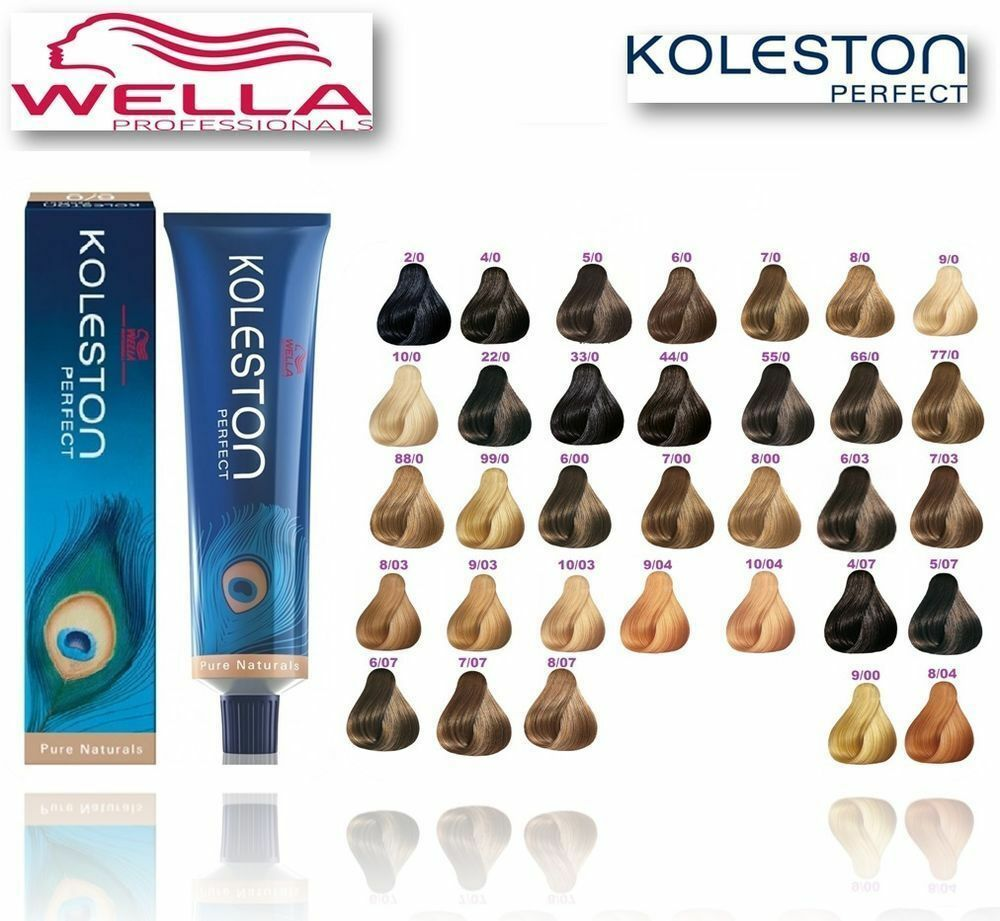 wella koleston perfect permanent hair colour new boxed. Black Bedroom Furniture Sets. Home Design Ideas