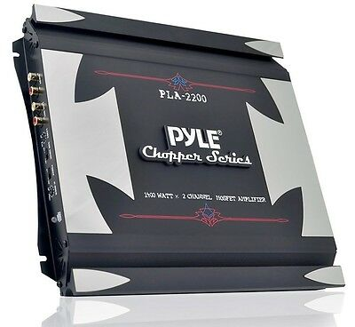 Pyle Chopper PLA2200 2 Channel 1400 Watt Bridgeable Mosfet Amplifier -
