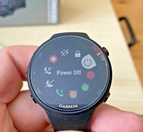 Garmin Forerunner 45S GPS Heart Rate Monitor Running Smartwatch, Black, Used