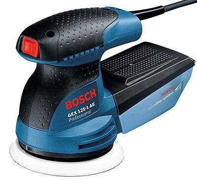New Bosch GEX 125-1 AE Professional Random Orbital Sander 125mm 220V