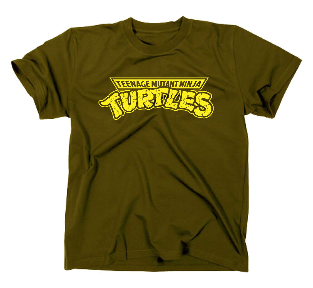 Teenage Mutant Ninja Hero Turtles T-Shirt, Kult Logo Fanshirt Fan lustig kinder