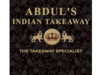 Part time delivery job for takeaway
