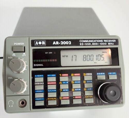 AOR 2002 SCANNER