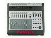 M-audio Projectmix i/o daw controller, Studio mixer, interface WANTEEED
