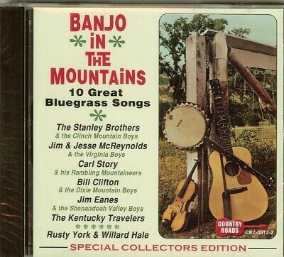BANJO IN THE MOUNTAINS - 16 GREAT BLUEGRASS SONGS - VARIOUS - CD - (Great Songs 2013)