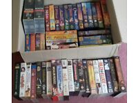 JOB LOT OF 50+ VHS CHILDRENS U, PG, 12, 15 VIDEO TAPES INCLUDING DISNEY & MORE !