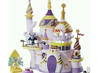 Brand new My little pony castle canterlot