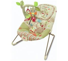 Fisher Price Woodsy Friends Comfy Time Bouncer x 2