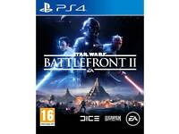 BRAND NEW SEALED STAR WARS BATTLEFRONT II GAME FOR SONY PS4