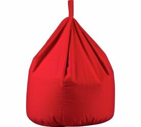 Large Beanbag In Poppy Red