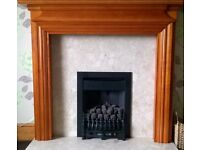 Pine Fire surround very good condition.