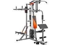 V-Fit STG093 Herculean Modular Compact Python Home Multi Gym