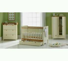 Argos 2 tone nursery furniture