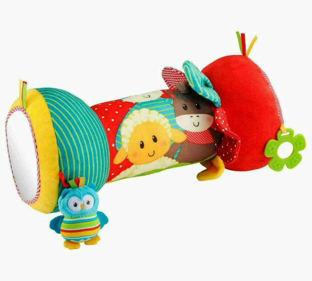 ELC Blossom Farm - Tummy time Roller from mothercare