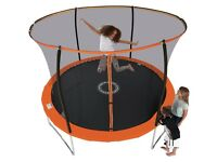 Sportspower 10ft trampoline with enclosure RRP £150 argos only £79.99