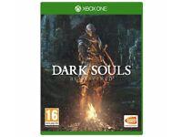 Dark souls remastered xbox one game