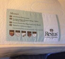 Organic cotton king size mattress