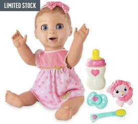 Blonde luvabella doll