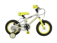 New Falcon Kids 12 Inch Alloy Superlite Bike With Stabilisers - RRP £175