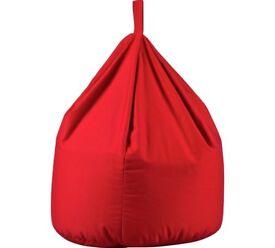 Bean Bag In Poppy Red