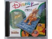 Disney's Tarzan Print Studio (PC: Windows) CD-ROM