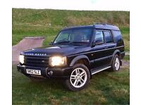 Land Rover Discovery 2, TD5 Auto, 7 seater.