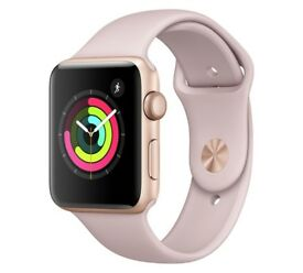 A brand-new, unused, unopened !!! Apple Watch S3 GPS 38mm - Gold Aluminium / Pink Sand Band