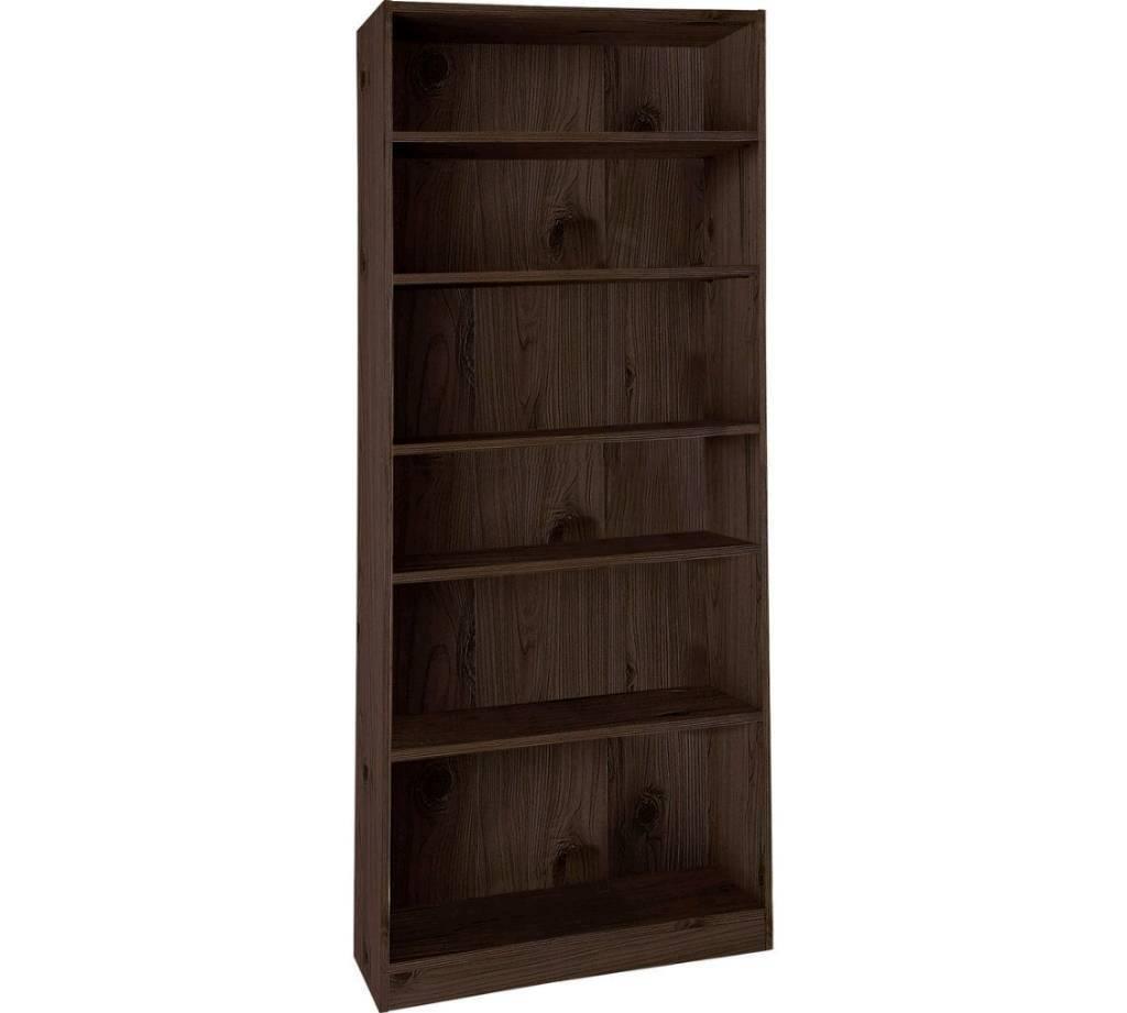 Walnut finish bookshelf £10