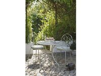 Garden table with 2 chairs