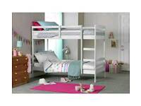 HOME Josie Single Bunk Bed Frame - White - Used a few times